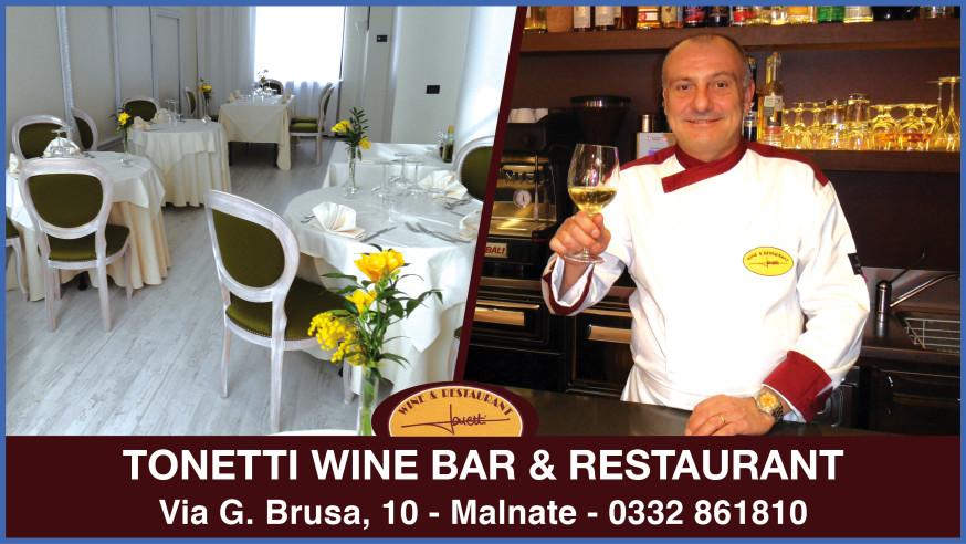 Wine & Restaurant Tonetti, un locale da scoprire