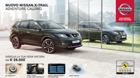 Nuova Nissan X-Trail da Top Cars
