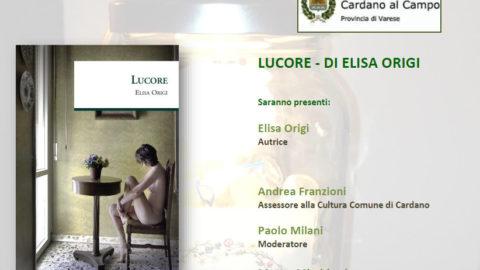 """Presentazione di """"Lucore"""" a Cardano al Campo"""