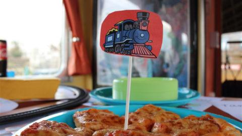 Festa di compleanno in treno