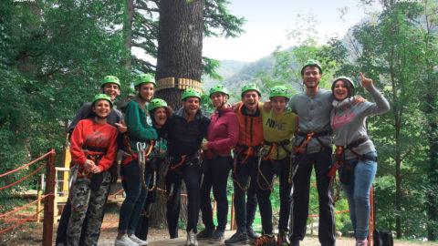 Apre l'Adventure Park Villaggio Cagnola