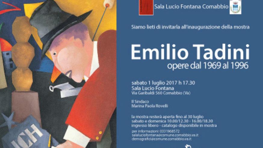 Mostra Emilio Tadini a Comabbio