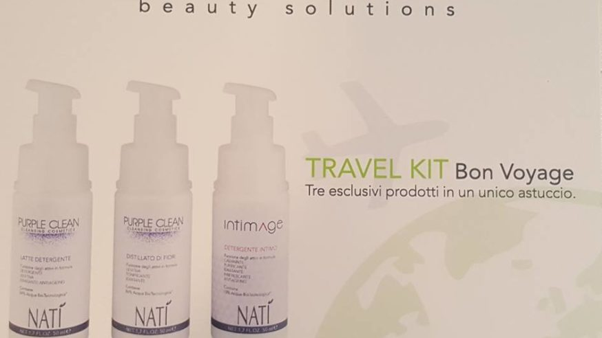 Travel kit da Estetica Aphrodite