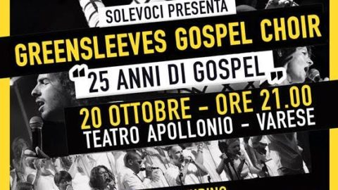 Concerto 25 anni Greensleeves Gospel Choir