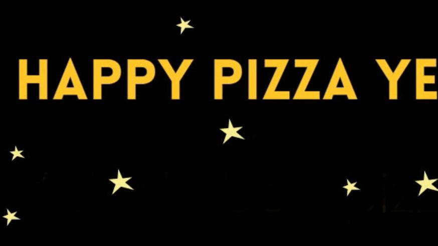 Happy Pizza Year da Zei