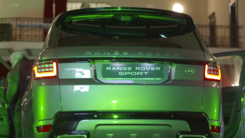 Autosalone Internazionale: nuova Range Rover Sport