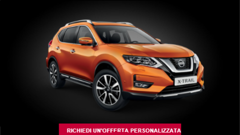 Nuovo Nissan X-Trail da Top Cars