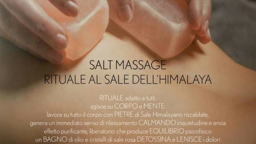 Estetica Aphrodite: promo salt massage