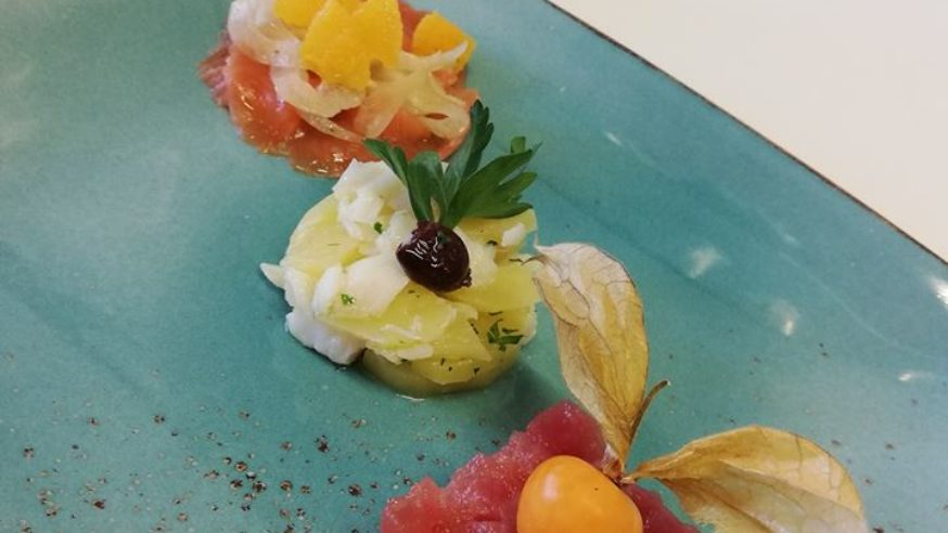 Cucina fiorita da Orlando