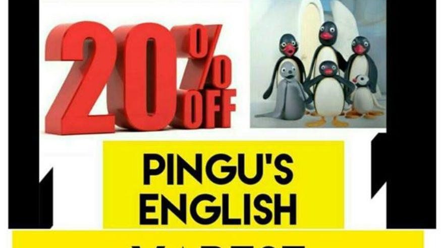 Black Friday da Pingu's English