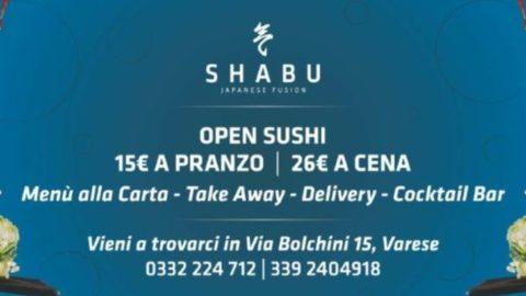 Shabu Varese: Open Sushi