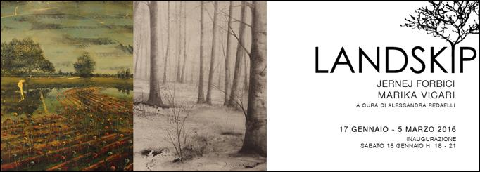 Punto sull'arte Landskip