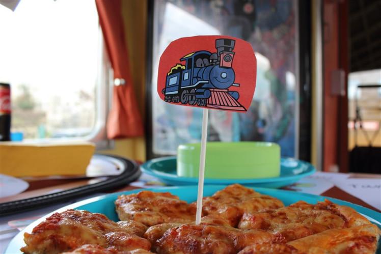 Festa compleanno treno