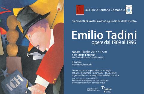 Mostra Emilio Tadini