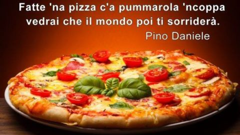 Una pizza da Robarello