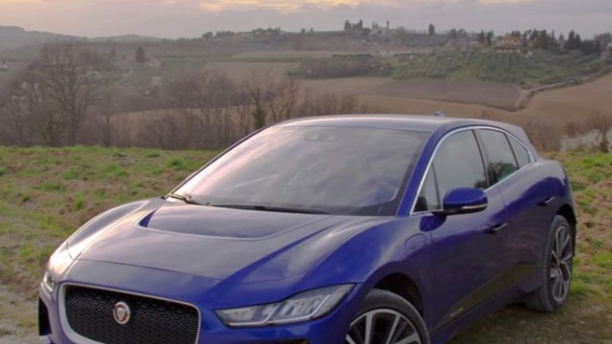Autosalone Internazionale: Jaguar I-Pace